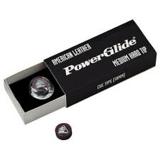 PowerGlide Premium American Leather 10mm Cue Tips