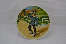 "Knowles ""If i only had a brain"" collector plate Wzard of Oz"