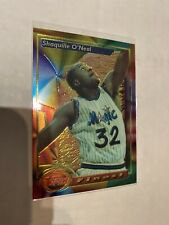 1993 - 1994 TOPPS FINEST SHAQUILLE O'NEAL CARD #3 Orlando Magic LA Lakers