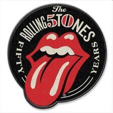 Rolling Stones 50th Anniversary Parche bordado para pegar con plancha Iron Patc