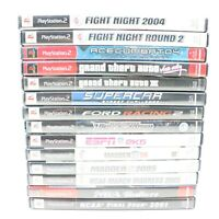Lot of 14 Sony PlayStation 2 PS2 Games Racing Sports GTA Games