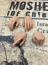 Hobby Master Moshe Dayan IDF Chief Hands x 4 loose 1/6th scale