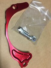 99-14 Honda 400ex - Red BILLET Anodized Case Saver - trx400ex 400x chain guard