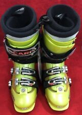 NEW SCARPA Spirit4 Thermo Ski Touring Snow Boots Lemon Yellow