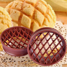 Pineapple Bun Cutter Plastic Bread Mold Biscuit Stamp Mould Pastry Baking Tool D