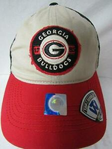 Georgia Bulldogs Mens Size M/L Tide Honors Flex Mesh Baseball Cap Hat E1 367
