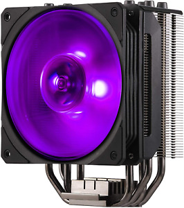 Cooler Master Hyper 212 RGB Black Edition Cooling System - Stylish, Colourful an