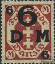 Danzig D25b postfrisch 1922 Dienstmarke