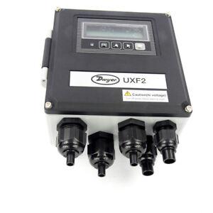 Dwyer Instruments UXF2-34P1 Ultrasonic Flow Meter / Converter 20-30VDC Sync