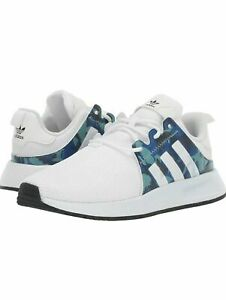 NEW Adidas X_PLR J Youth Shoes White Blue Camo EE7097 ALL SIZES 3.5Y - 6.5Y