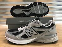 New Balance 990 Shoes 'EST DMV' Gray Black White Made In USA SZ ( M990NBK4 )