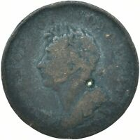 COIN / PROVINCE OF NOVA SCOTIA / 1821 HALF PENNY TOKEN / GEORGE IV  #WT24800