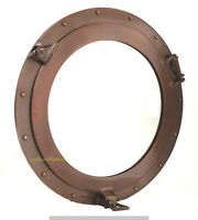 "15"" Aluminum Window Porthole Copper Antique Finish Ship Cabin Nautical Porthole"