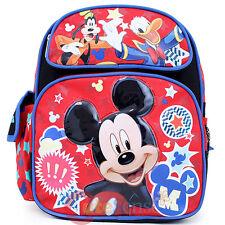 "Disney Mickey Mouse Friends Medium School Backpack 12"" Bag Club House Stars"