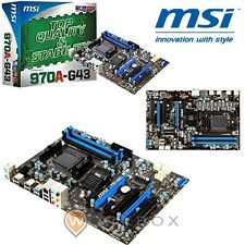 MSI 970A-G43 Scheda madre ATX AMD 970+sb950 am3+ dual channel ddr3 2133-16 FX