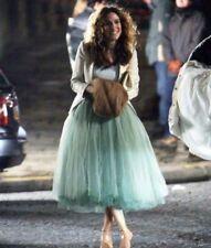 Tulle Skirt Length Skirt Mint Green Fashion Women Skirts formal skirt