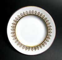 "Myott Tiffany Bread and Butter Plate, Vintage White Ironstone 6 1/4"" Tea Plate"