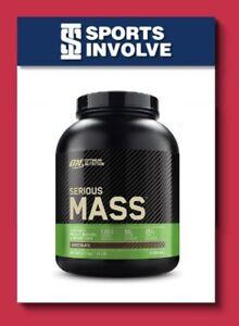 Optimum Nutrition Serious Mass Chocolate 2.72kg Weight Gainer Protein Powder