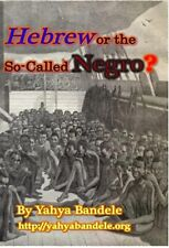 Hebrew or the So-Called Negro? DVD