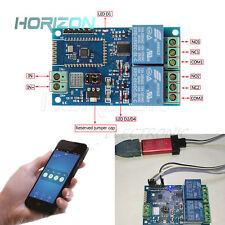 5V 2 Kanal Bluetooth Relaismodul Smart Home App Remote Control Switch