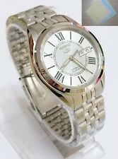 (Gift) + SNKL29K1 SEIKO 5 Stainless Steel Band Automatic Men's Silver Watch New