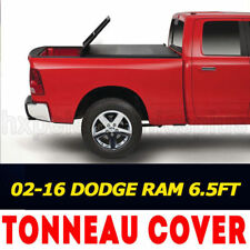 Fit For Dodge Ram 1500/2500/3500 6.5Ft/78in Bed 2002-2016 Tri-Fold Tonneau Cover