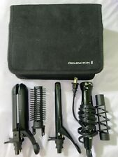 Remington Flat Iron Multi-Styler with 5 Interchangeable Styling Attachments