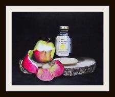 Apple Cheese & Chutney : Original Oil Painting by Susan Ballantyne - Mortimer