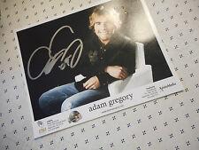 Autographed Adam Gregory Color Publicity Photo