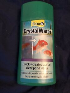 TETRA POND CRYSTAL WATER FOR CRYSTAL CLEAR POND WATER - 500ML BOTTLE.