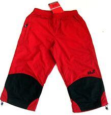 Jack Wolfskin Beach Pants Women kurze Wanderhose  Freizeithose indian red XS 34