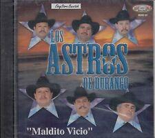 LOS ASTROS DE DURANGO MALDITO VICIO  CD NEW SEALED