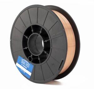 S-08WW5 Copper Coated MIG Welding Wire A18 0.8mm - 5kg Reel CO2 Mild Steel SATRA