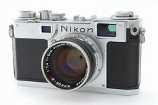 【EXC++++】Nikon S2 Rangefinder Film Camera W/ Nikkor S.C 5cm F/1.4 from Japan 579