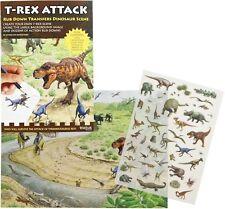 T-REX ATTACCO RUB verso il basso attività di trasferimento Pack