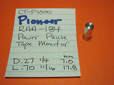 PIONEER RAA-184 TOGGLE SWITCH CAP POWER PAUSE TAPE MON  CT-F1000 CASSETTE DECK