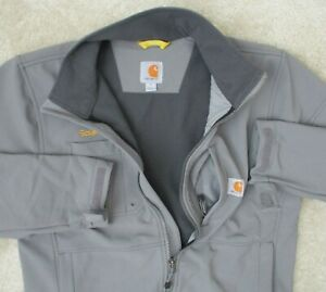 Carhartt Mens M Performance Soft Shell Fall 2018 Full Zip Work Wear Jacket Coat