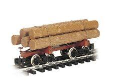 Bachmann - Skeleton Log Car w/Logs - G
