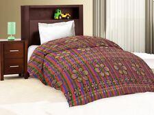 Designer Polyester Single Bed Sheet Only - Assorted Color & Designed