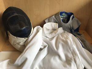Fencing Kit - Mask, Lame, Jacket - Size M