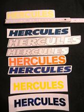 Aufkleber Hercules Prima 2S Trittbrettaufkleber 2x Sticker