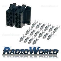 16 Pin Male ISO Terminal Block Socket Connector Repair Kit Twin