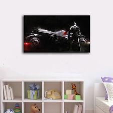 60×100×3cm Batman Car Framed Canvas Prints Wall Art Home Decor Painting Gift