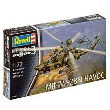 Revell 04944 - Modellino da costruire Elicottero D'attacco Mil Mi-28 (p7l)