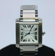 Cartier Tank Francaise 763700CE Automatic Stainless Steel Quartz Watch