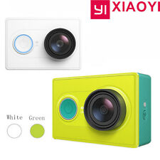 White Original XiaoMi Yi 1080P Ambarella A7 16MP WIFI Sports Mini DV Action Cam