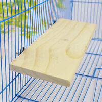 Wooden Cockatiel Parrot Bird Cage Perches Stand Platform-Pet Budgie Toys Ha Z7U8