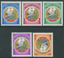 LAOS N°303/307** armoiries,  TB, 1976, Coat-of-arms Set MNH