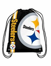 Pittsburgh Steelers Drawstring Bag NFL Football Licensed Gym Tote Backpack