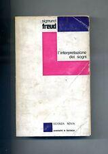 Sigmund Freud # L'INTERPRETAZIONE DEI SOGNI # Avanzini e Torraca 1968